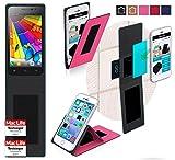 reboon Hülle für JiaYu G2F Tasche Cover Case Bumper | Pink | Testsieger