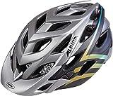 Alpina Damen D-Alto LE Fahrradhelm, Darksilver/Black/Gradient, 52-57 cm
