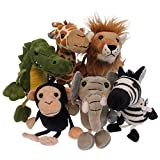 African Animals Puppets