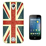 002985 - Vintage Shabby Union Jack British Flag Design Acer
