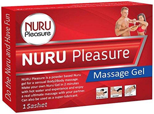 NURU Massage Gel Pulver. Machen sie ihre eigenen magischen Nuru Gel, Super Glatt, Geruchlos und Geschmacksneutral, Ideal für nasse Nuru Gel Massagen und erotische Body-to-Body Massage