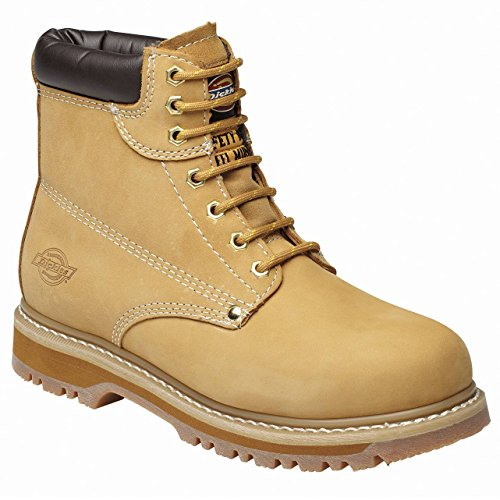 Dickies Cleveland Super Safety Boot - Honey Nubuck - UK 11 / US 12 / EU 46 Super Safety Boot