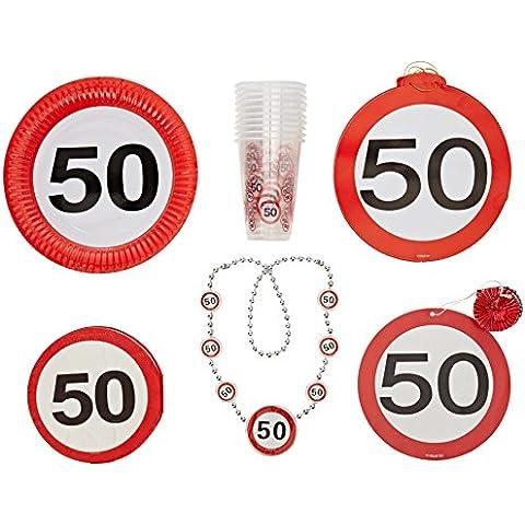 La fiesta de cumpleaños número 50 Colección Creativa Pack de Celebración