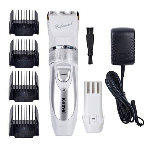 inkint Wiederaufladbare Haarschneider Professionelle Tragbare Akku Elektrische Haarschere 5-Modus Einstellbar Unisex Haarpflege Rasieren Kinder Haar Shaver
