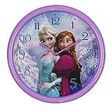 Disney Frozen Kinderwanduhr Anna & Elsa 25cm violett - Das