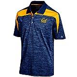 Champion NCAA Herren betonten Streifen Farbe Blockiert Polo, herren, NCAA Men's Boosted Stripe Colorblocked Polo, navy, Large