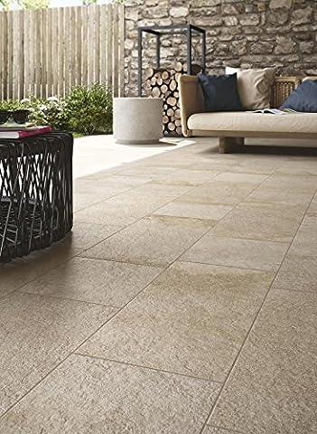 Araignée Stoneway _ pavées XT20beige 60x 60cm r48p carrelage sol rivestimeni en céramique pour maison salle de bain cuisine extérieur en offre
