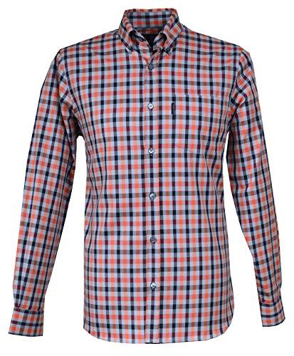 aquascutum-camicia-casual-con-bottoni-uomo-greyredblack-x-large