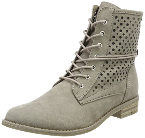 Marco Tozzi Damen 25101 Combat Boots Beige (taupe)
