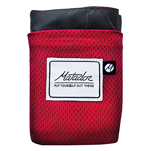 MATADOR Erwachsene Blanket Pocket Decke, Original Red, NA