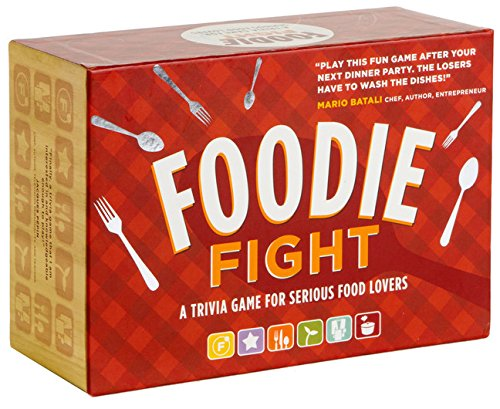 Game Trivia Kochen (Foodie Fight: A Trivia Game With Gameboard and Cards)