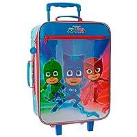 Pj Masks Super Pigamini 4239061 Valigia Per Bambini, 50 Centimetri, 25 Litri, Multicolore, Gattoboy, Gufetta, Geco