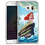 DeinDesign Samsung Galaxy S6 Edge Hülle Case Handyhülle Disney Arielle Die Meerjungfrau Geschenke Merchandise
