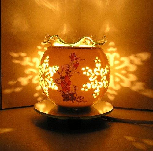 Piccolo Ceramiche Vuoto Interruttore Di Regolazione Aromaterapia Lampada Ad Olio