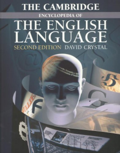The Cambridge Encyclopedia of the English Language 2nd Edition Paperback por Crystal