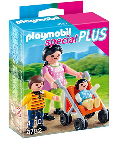 Playmobil Especiales Plus- Mother with Children Especial