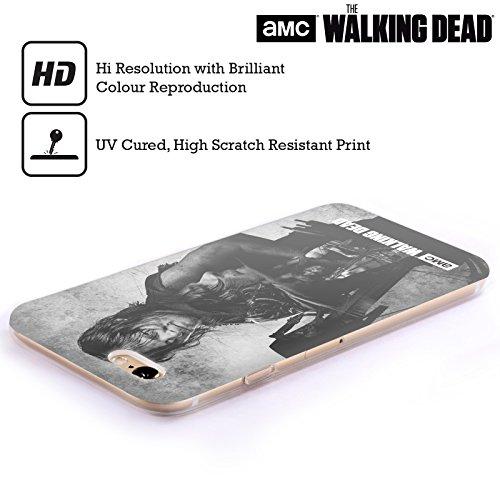 Offizielle AMC The Walking Dead Daryl Doppelte Aussetzung Soft Gel Hülle für Apple iPhone 5 / 5s / SE Daryl