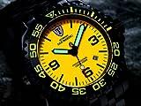 DETOMASO Herrenuhr Automatik Edelstahlgehäuse Edelstahlarmband Saphirglas SAN MARINO Automatik Taucheruhr Trend orange/schwarz DT1007-E - 4