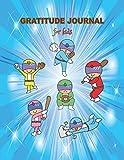 Gratitude Journal for Kids: Superhero Baseball Gratitude Journal For Boys, and Girls (Superhero Baseball Journals, Band 1)