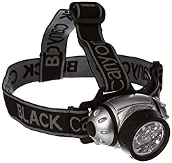 Black Canyon Stirnleuchte Mit Verstellbarer Neigung 14 Leds, schwarz, BC7003
