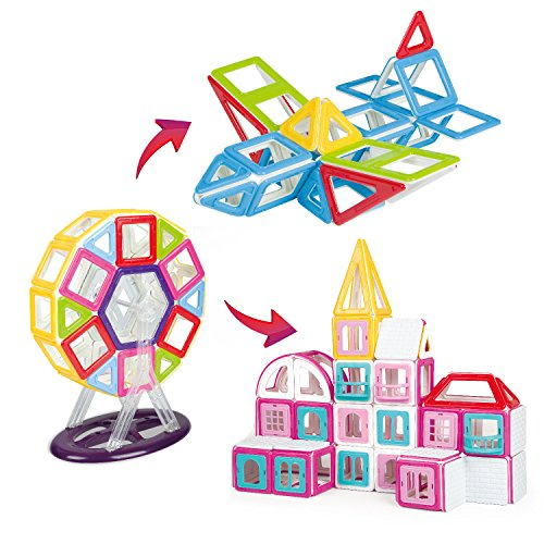 BeneGlow-3D-Magnetic-Building-Blocks-Building-Sets-Toys-for-Children