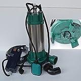 Fäkalienpumpe Schmutzwasserpumpe mit Schneidwerk IBO 2200 Leistung 2200Watt Spannung: 230V/50Hz...