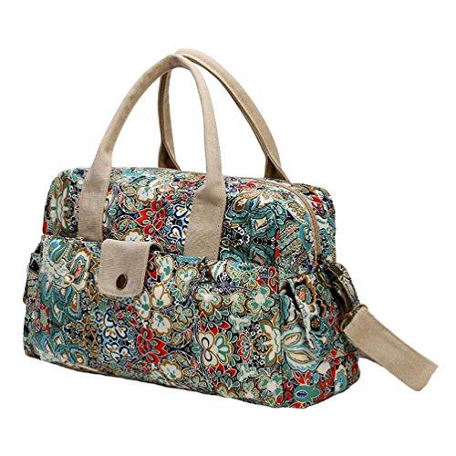 Chang Spent nuova borsa tracolla borsa di tela tote Messenger bag delle donne (colore facoltativo) , d b