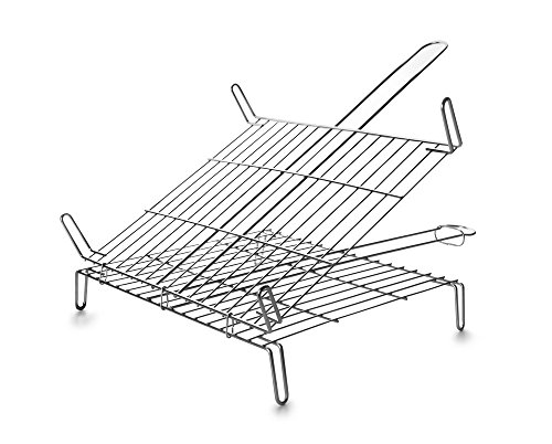 ibili-797445-parrilla-barbacoa-doble-45x45-cm