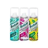 Batiste seco Champú Dry mini mix, fresca y aislamiento pelo para todos los tipos de cabello, 3 Pack 2+1 (3 x 50 ml)