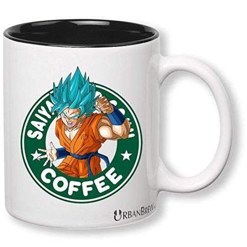 Dragon Ball Z Goku Super Saiyan Gott Starbucks Kaffeebecher (Perfekte Geschenk für Familie, Freunde, Goku & DBZ Fans.)-urbanbrew LLC (Eine Starbucks Kostüm)