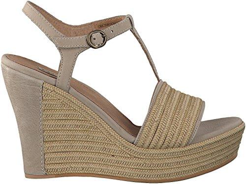 UGG scarpe donna sandali con la zeppa W FITCHIE beige TG 38