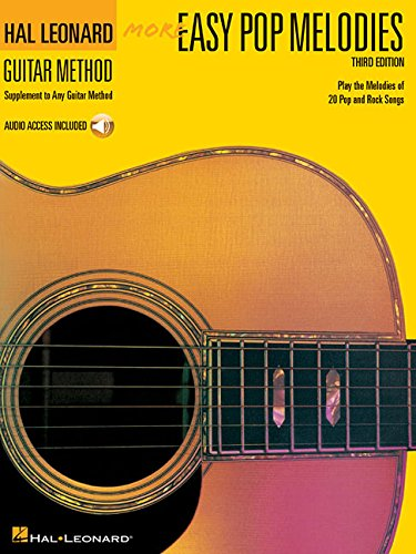 More Easy Pop Melodies: Correlates with Book 2 [With CD (Audio)] (Hal Leonard Guitar Method (Songbooks))