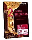CULTUR 'in The City Coffret Cadeau Culture - 1200 Spectacles Premium - 450 Salles Partout en France - Place de Spectacle, Théâtre, Comédie, One Man Show, Danse, Magie et Autres !