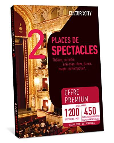 CULTUR'IN THE CITY Coffret Cadeau - 1200 Spectacles Premium - 450 Salles Partenaires Partout en France Théâtre, Comédie, One Man Show, Danse, Magie et Autres !