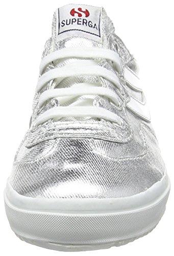 Superga 2832 Cotmetw  - Scarpe da Ginnastica Basse donna Argento (Silver)