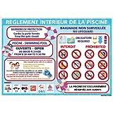 Protection Anti-UV Dimensions 150x210 mm Adh/ésif Danger Acc/ès Interdit