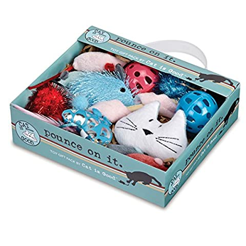Cat is Good Pounce on It Gift Pack, 12-Piece