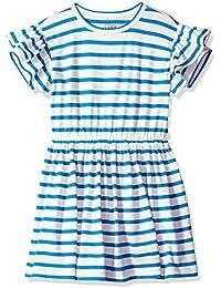 LOOK by crewcuts Ruffle Sleeve Dress Niñas