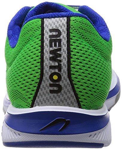 Newton Running Men's Gravity V Shoe, Chaussures de Entrainement Homme Vert (Green/blue)