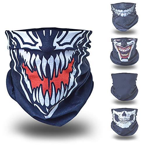 Kostüm Ghost Ninja - Venom Ghost Ninja Karneval Fasching gesichtsmaske gesichtsschal bandana sturmhaube funktionshaube gesichtshaube stirnhaube kopfbedeckung halsbedeckung stirntuch stirnband bekleidung hut mütze cap