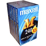 Maxell Cassette vidéo M240 Pack 5