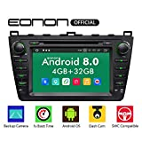 eonon Android 8 fit Mazda 6 2009 2010 2011 2012 20,3cm 8' LCD 2Din Indash Car Digital Car Audio Video Stereo Autoradio Touchscreen CD DVD GPS Bluetooth FM DAB+ WiFi AV out Subwoofer Heaunit GA9198B