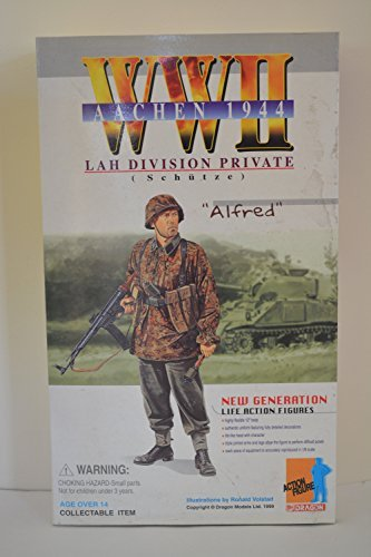 Dragon WW2 Austria 1945 LAH Division Private Schutze Alfred 12-inch Japan Import Action Figure No. 70041 by Dragon Models USA