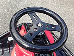 Replacement Steering Wheel With Bolt For The Razor Crazy Cart