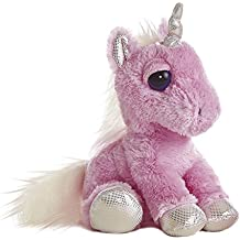 Dreamy Eyes - Unicornio de peluche, 30 cm, color rosa (Aurora World 21247)
