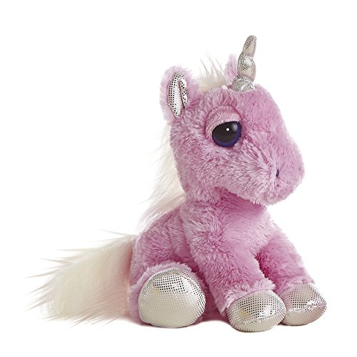 Aurora-World-21247-Dreamy-Eyes-Einhorn-Plschtier-12-Zoll-rosa
