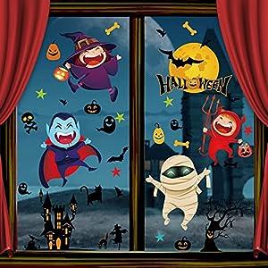 Vancavoo Halloween Pegatinas de Ventana
