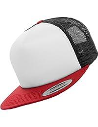 Flexfit Herren Caps / Trucker Cap Foam rot one size