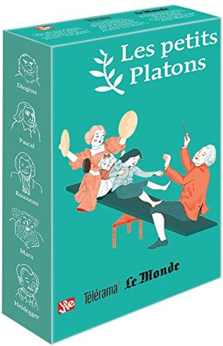 Les petits Platons : 5 volumes : Le cafard de Martin Heidegger ; Le fantme de Karl Marx ; Moi, Jean-Jacques Rousseau ; Diogne l'homme chien ; Visite d'un jeune libertin  Blaise Pascal