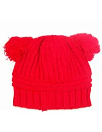 chinkyboo Lovely gorro de punto de los cartucho para máquinas de corte de lana de invierno Diseño de bebé…